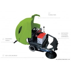 512 Cordless Dry Sweeping Machine