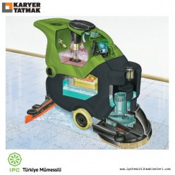 CT40B50 Wet Dry Battery Powered Floor Cleaning Machine