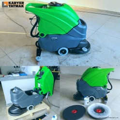 CT55B55 Wet Dry Battery Powered Floor Cleaning Machine
